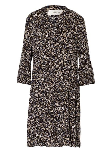 CARTOON Kleid  mit 3/4-Arm, Farbe: DUNKELBLAU/ BEIGE (Bild 1)