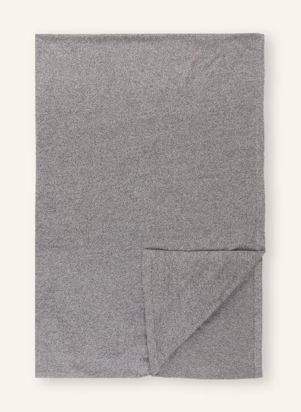 ESSENZA Plaid LOMA, Farbe: DUNKELGRAU (Bild 1)