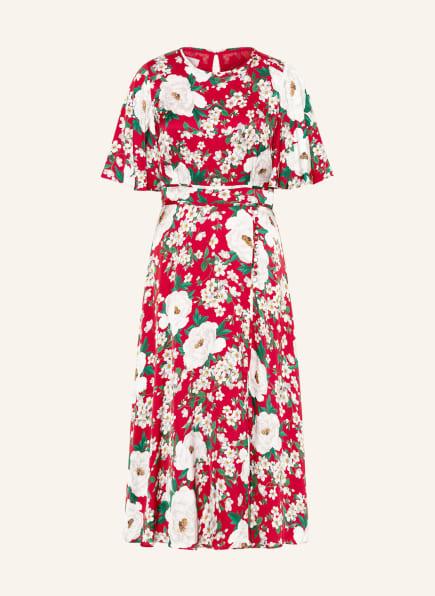 HOBBS Kleid BELLA, Farbe: ROT/ WEISS/ GRÜN (Bild 1)