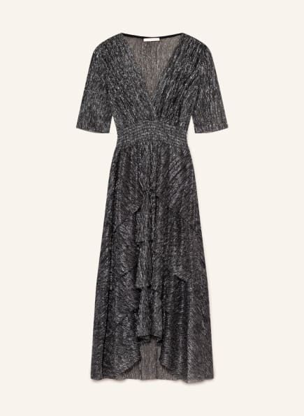 maje Kleid RUFFANE mit Glitzergarn, Farbe: SILBER (Bild 1)