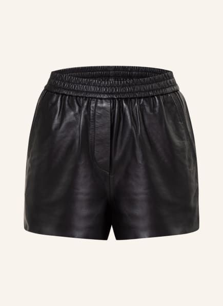 maje Shorts ICONO in Lederoptik, Farbe: SCHWARZ (Bild 1)