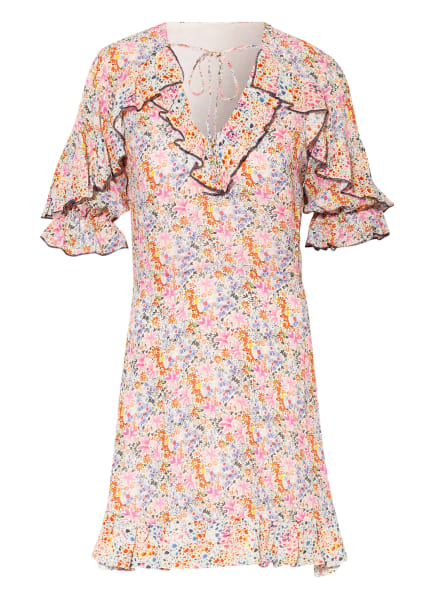 TED BAKER Kleid MARIIY mit 3/4-Arm, Farbe: BLAU/ ROSA/ GRÜN (Bild 1)