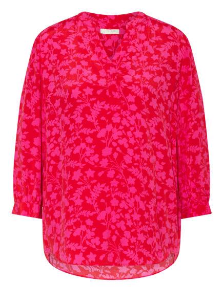 HOBBS Blusenshirt ESSIE mit 3/4-Arm , Farbe: ROT/ PINK (Bild 1)
