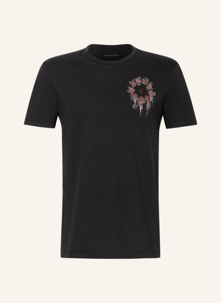 ALL SAINTS T-Shirt CEREMONY BRACE, Farbe: SCHWARZ (Bild 1)