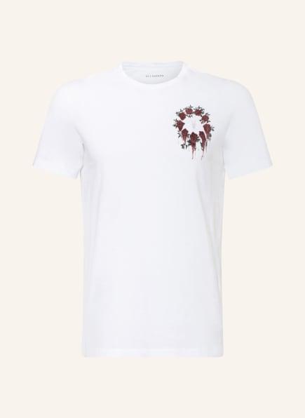 ALL SAINTS T-Shirt CEREMONY BRACE, Farbe: WEISS (Bild 1)