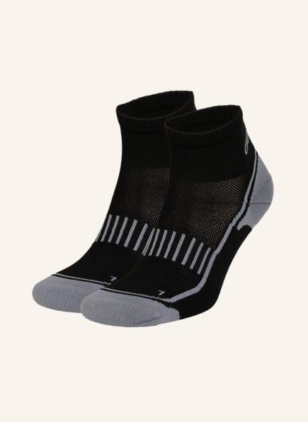GET FIT 2er-Pack Running-Socken, Farbe: BLACK/GREY (Bild 1)