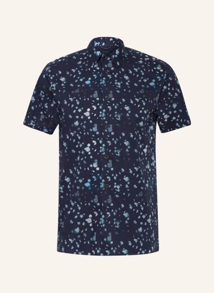 TED BAKER Kurzarm-Hemd THOUHTS Slim Fit , Farbe: BLAU/ HELLBLAU (Bild 1)
