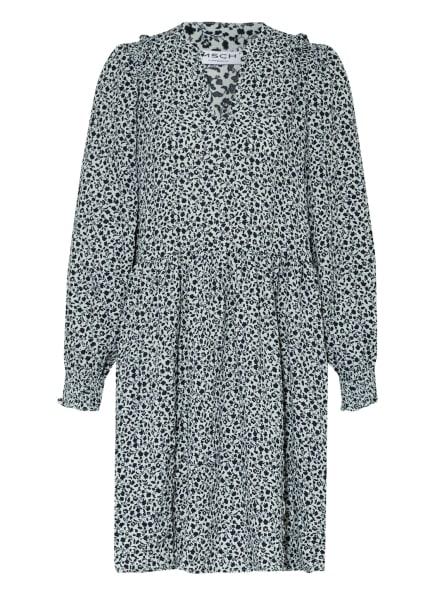 MOSS COPENHAGEN Kleid BALINE LARISSA mit Rüschenbesatz, Farbe: GRAU (Bild 1)