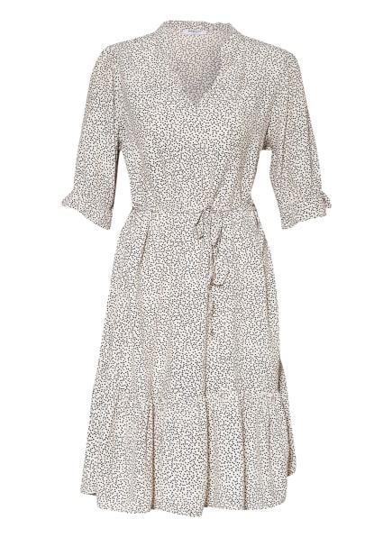MOSS COPENHAGEN Kleid SIDIKA MOROCCO, Farbe: ECRU/ SCHWARZ (Bild 1)