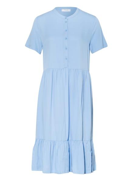 MOSS COPENHAGEN Kleid MADALYN RAYE mit Volantbesatz, Farbe: HELLBLAU (Bild 1)
