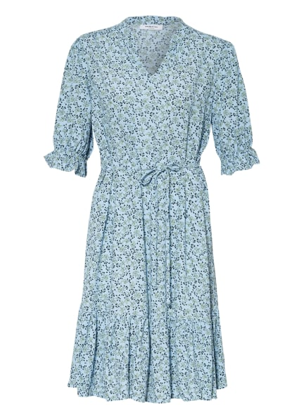 MOSS COPENHAGEN Kleid FADEA JALINA, Farbe: HELLBLAU/ SCHWARZ/ HELLGRÜN (Bild 1)