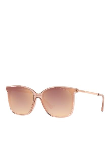 MICHAEL KORS Sonnenbrille MK-2079U ZERMATT, Farbe: 31756F - ROSÉGOLD/  ROSÉ VERSPIEGELT (Bild 1)