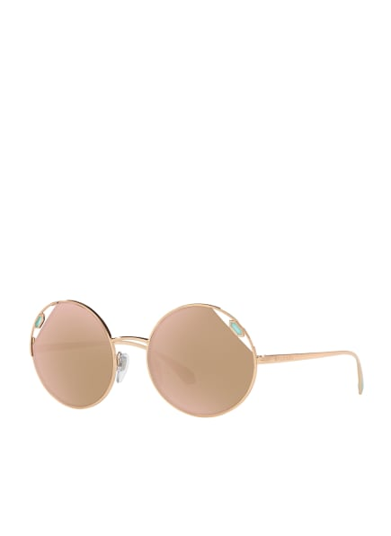 BVLGARI Sunglasses Sonnenbrille BV 6159, Farbe: 20144Z - GOLD/ ROSÉ VERSPIEGELT (Bild 1)