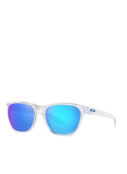 OAKLEY Sonnenbrille MANORBURN OO9479, Farbe: 947906 - TRANSPARENT/ BLAU VERSPIEGELT (Bild 1)