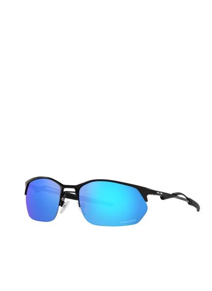 OAKLEY Sonnenbrille OO4145, Farbe: 414504 - MATT SCHWARZ/ BLAU POLARISIERT (Bild 1)