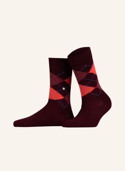 Burlington Socken WHITBY, Farbe: 8377 rose (Bild 1)