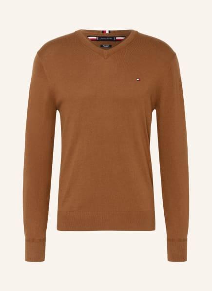TOMMY HILFIGER Pullover, Farbe: BRAUN (Bild 1)