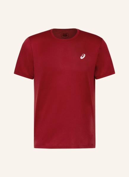 ASICS T-Shirt KATAKANA, Farbe: DUNKELROT (Bild 1)