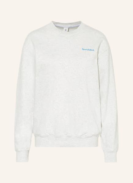 SPORTY & RICH Sweatshirt , Farbe: CREME/ HELLGRAU (Bild 1)