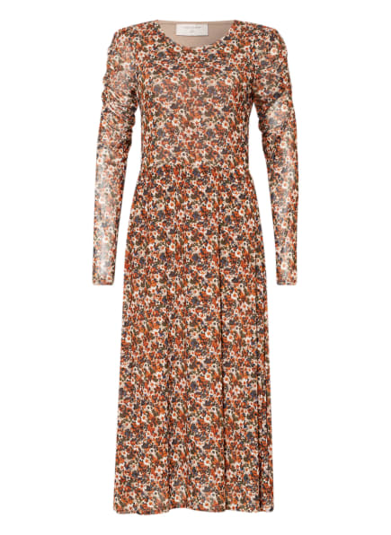 FREEQUENT Kleid LAMA , Farbe: BLAU/ BRAUN/ CREME (Bild 1)