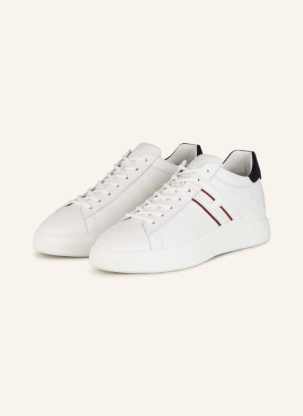HOGAN Sneaker H580, Farbe: WEISS/ SCHWARZ (Bild 1)