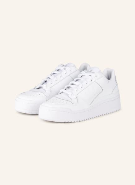 adidas Originals Plateau-Sneaker FORUM BOLD, Farbe: WEISS (Bild 1)
