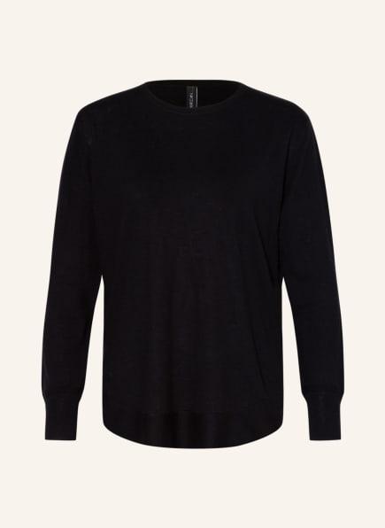 MARC CAIN Pullover mit Seide, Farbe: 900 BLACK (Bild 1)