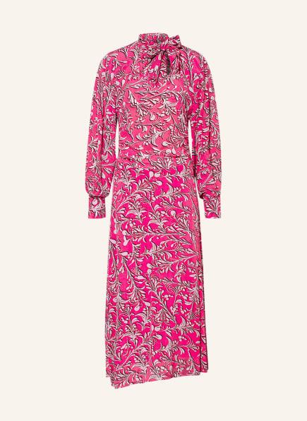 ISABEL MARANT ÉTOILE Schluppenkleid CARINE, Farbe: WEISS/ PINK (Bild 1)