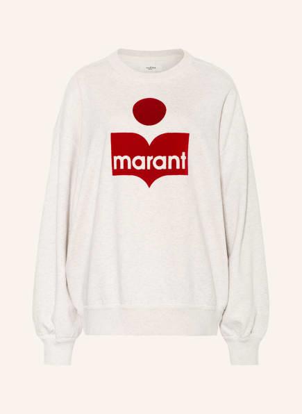 ISABEL MARANT ÉTOILE Oversized-Sweatshirt MINDY, Farbe: ECRU/ HELLGRAU (Bild 1)