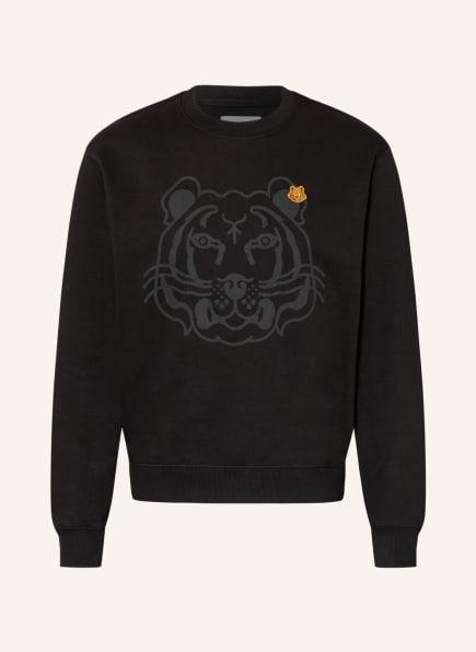 KENZO Sweatshirt K-TIGER CLASSIC, Farbe: SCHWARZ (Bild 1)