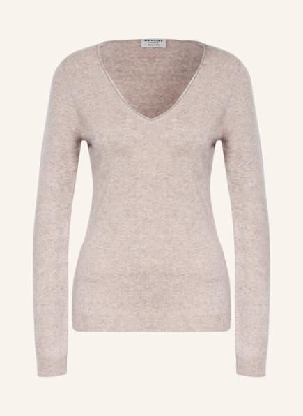 REPEAT Cashmere-Pullover, Farbe: 1405 multi beige (Bild 1)