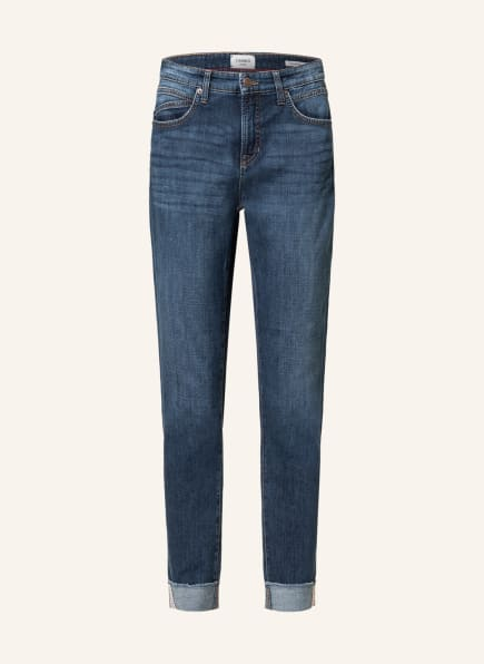 CAMBIO Boyfriend Jeans KERRY, Farbe: 5233 dark used fringed hem (Bild 1)