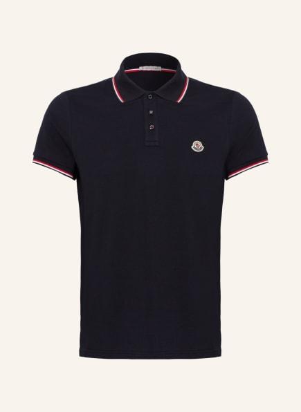 MONCLER Piqué-Poloshirt, Farbe: DUNKELBLAU (Bild 1)