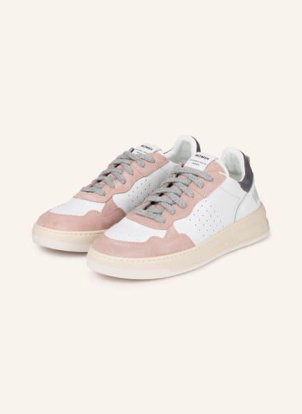 WOMSH Plateau-Sneaker HYPER, Farbe: WEISS/ ROSA (Bild 1)