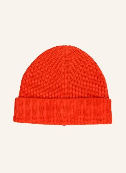 Bakaree Cashmere-Mütze, Farbe: DUNKELORANGE (Bild 1)