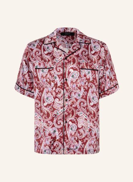 AMIRI Resorthemd Classic Relaxed Fit, Farbe: DUNKELROT/ HELLLILA/ DUNKELGRÜN (Bild 1)