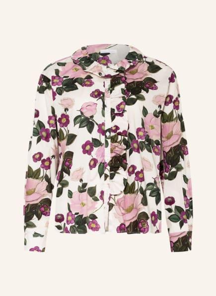 ROBERT FRIEDMAN Bluse, Farbe: WEISS/ LILA/ ROSA (Bild 1)