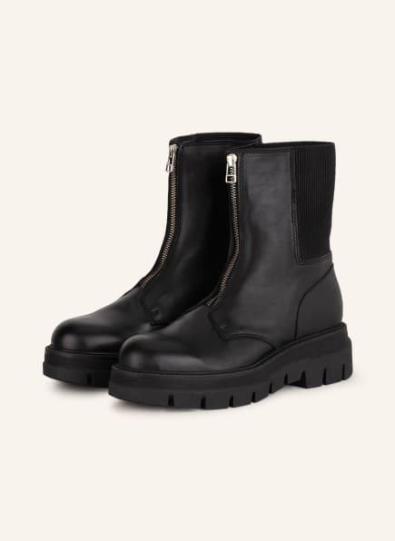 INUOVO Plateau-Boots , Farbe: SCHWARZ (Bild 1)