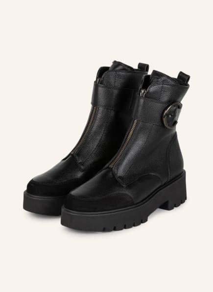 paul green Plateau-Boots, Farbe: SCHWARZ (Bild 1)