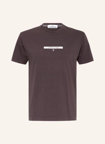 STONE ISLAND T-Shirt, Farbe: BRAUN (Bild 1)