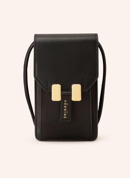 MAISON HÉROÏNE Smartphone-Tasche ROMY, Farbe: SCHWARZ (Bild 1)