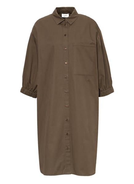 ROBE LÉGÈRE Hemdblusenkleid mit 3/4-Arm, Farbe: KHAKI (Bild 1)