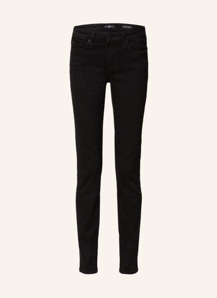 7 for all mankind Skinny Jeans PYPER , Farbe: SCHWARZ (Bild 1)