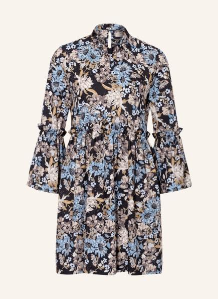 RINASCIMENTO Kleid, Farbe: SCHWARZ/ HELLBLAU/ TAUPE (Bild 1)