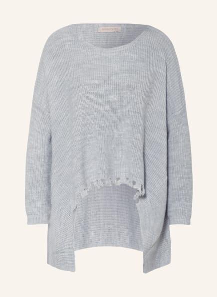 RINASCIMENTO Oversized-Pullover, Farbe: HELLGRAU (Bild 1)