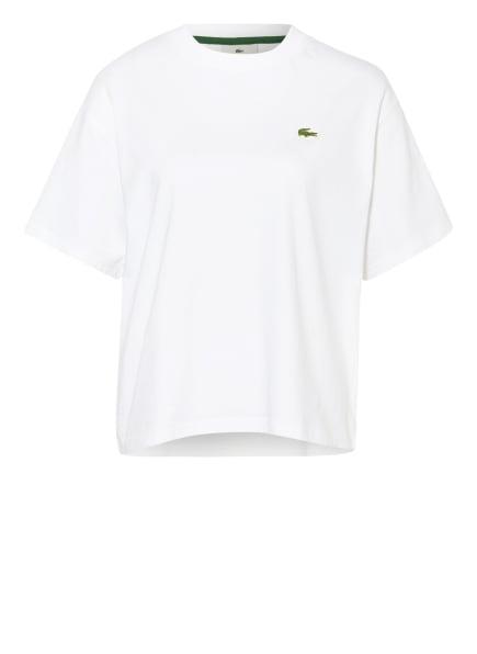 LACOSTE L!VE Oversized-Shirt, Farbe: WEISS (Bild 1)