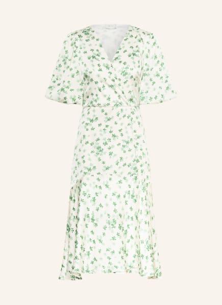 NEO NOIR Kleid ALVILDA, Farbe: WEISS/ HELLGRÜN/ GRÜN (Bild 1)