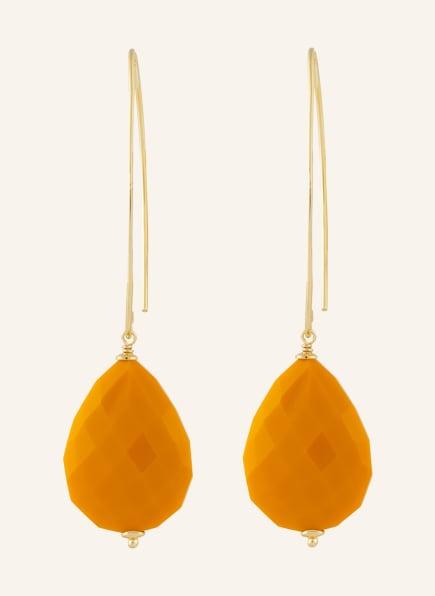 LOTT.gioielli Ohrhänger NORE, Farbe: ORANGE/ GOLD (Bild 1)