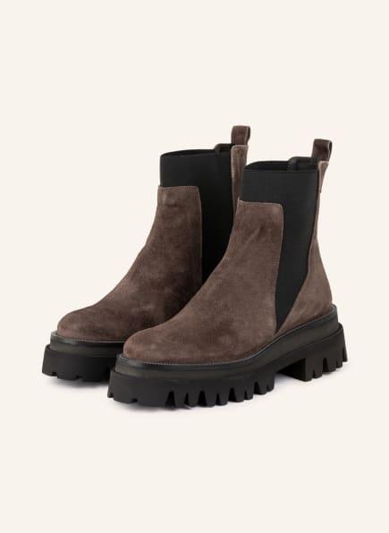 ZINDA Plateau-Boots, Farbe: BRAUN (Bild 1)