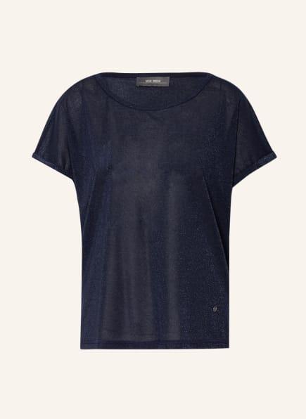 MOS MOSH T-Shirt KAY mit Glitzergarn, Farbe: DUNKELBLAU (Bild 1)